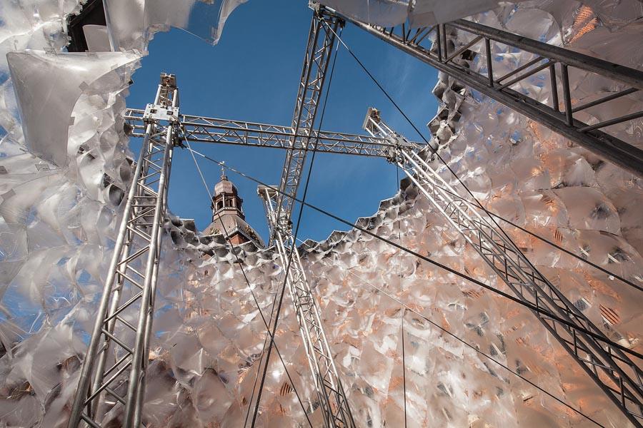 Parametric Glacier Pavilion by DJA #artpeople