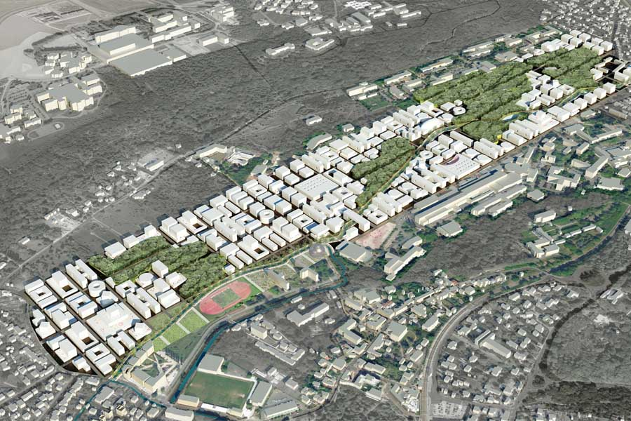 Vision 2050 – bird's eye view
